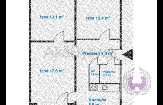 PREDAJ: 3-izb.byt, Bodvianska ul., Vrakuňa, Bratislava II.