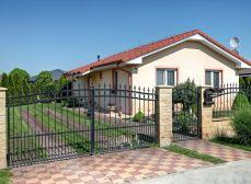 Košúty (GA): Predaj novostavby 4izb RD bungalow úžt. 76m2, zast. 93m2 zariadený. Pozemok 697m2, krásna park. úprava.