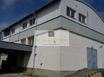 Predaj priemyselný objekt+admin.budova+sklady,dielne, Krškany
