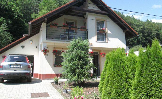 Best Real - exkluzívne predaj novostavby rodinného domu v Trenčianskych Tepliciach časť Omšenie