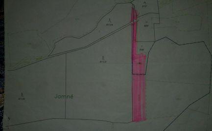 LAZY p/MAKYTOV - pozemok o výmere 5.250 m2 časť JAMNÉ