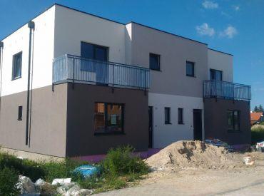 Bývajte pri hrádzi!Nový projekt 5-izbových RD v Rovinke  len 3 km od Bratislavy!