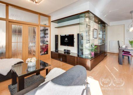 PREDANÝ 4 izbový byt Universo, Ružová dolina 103+66m2 terasa Ružinov