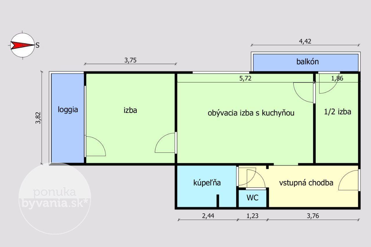 ponukabyvania.sk_Teplická_2-izbový-byt_KOVÁČ