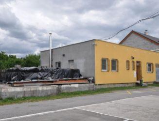 Administratívne, skladovacie a výrobné priestory v Košťanoch nad Turcom, predaj