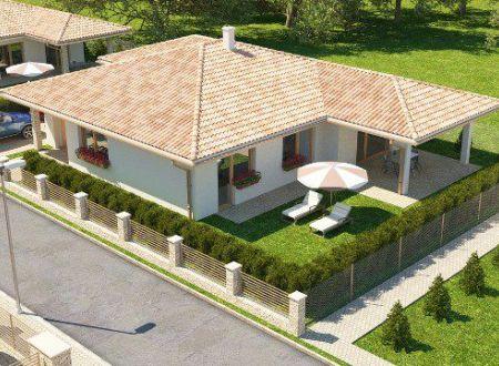 Na predaj novostavba bungalovu v Partizánskom