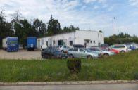 Priemyselný pozemok 1,12 Ha s garážami pre kamiónovú dopravu