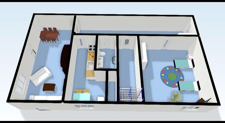 Stred / 2 izbový veľkometrážny byt v centre mesta / Bánovce nad Bebravou
