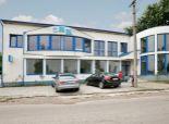 Vlčany (SA): Predaj prevádzkovej budovy (2004)-Predajňa, administratíva, sklady. Podl. 764m2, pozemok 1317m2
