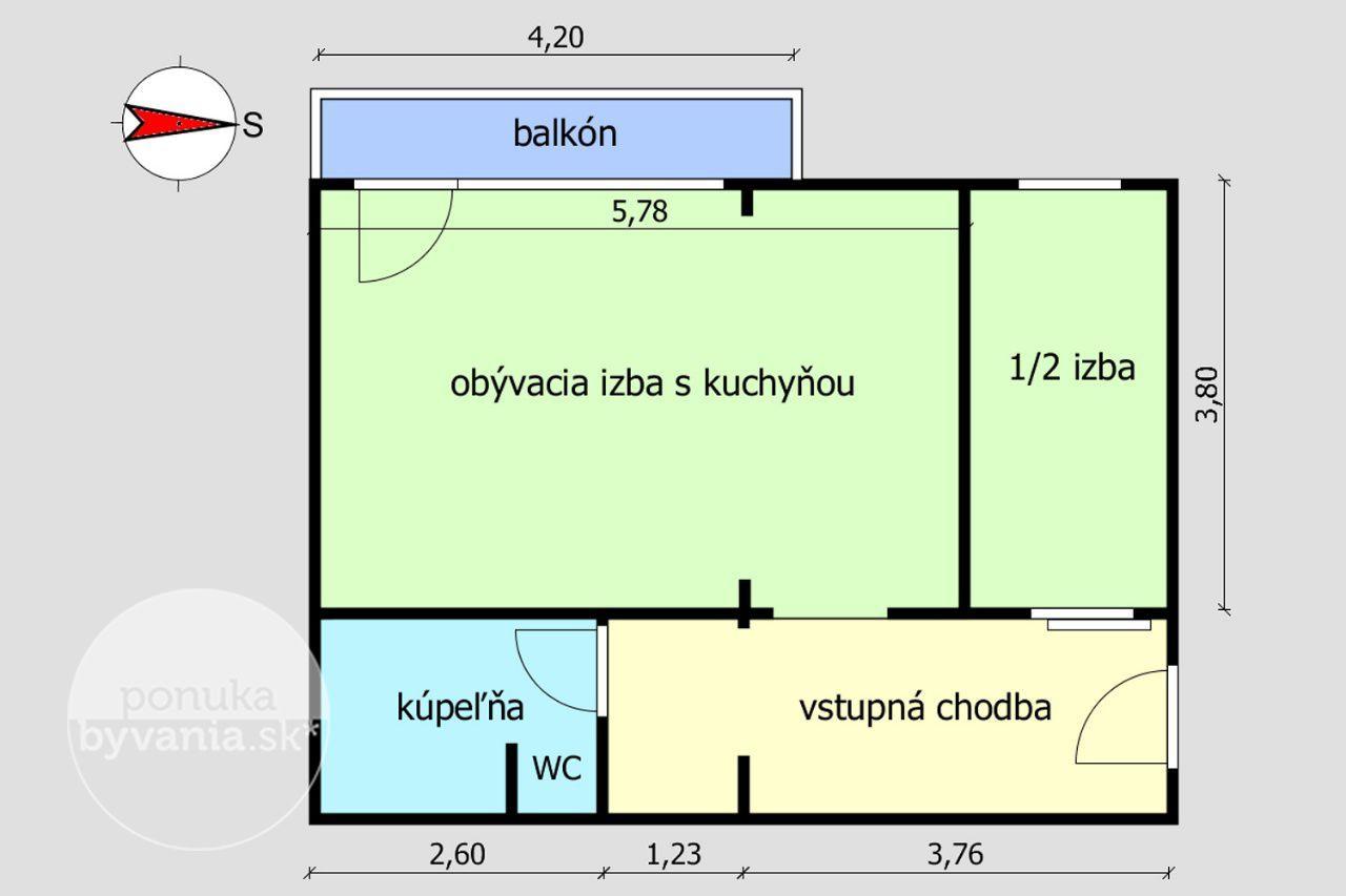 ponukabyvania.sk_Trebišovská_1-izbový-byt_archív