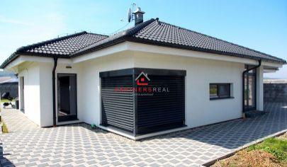 Luxusná novostavba rodinného domu typu Bungalov, Košice-okolie, Rozhanovce, ulica Toryská