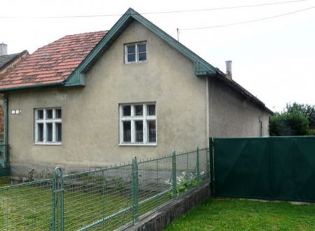 Na predaj rodinný dom v Partizánskom - Veľké Bielice