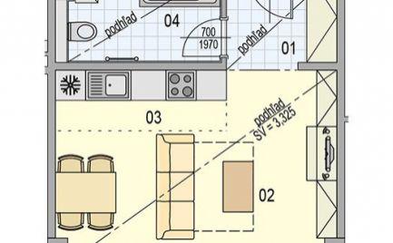 PREDANÉ! - 1 izbový apartmán vo výstavbe, Bratislava-Ružinov, CityPark, Plynárenská ul.