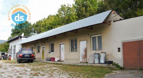 Na predaj 3 izbový rodinný dom, s dieľňou a 2 garáže, 4.480 m2, Lubina časť Hrnčiarové, okr. Nové Mesto nad Váhom