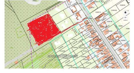 Na predaj pozemok na výstavbu pre 6 rodinných domov vJelenci