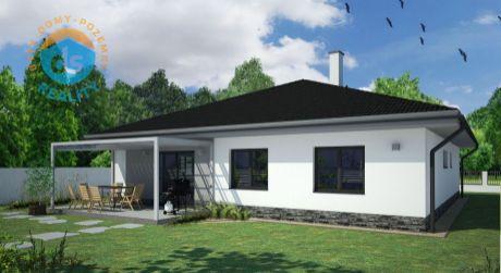 Novostavba nízkoenergetického 4-izbového domu s garážou, Trenčianska Turná, nová lokalita