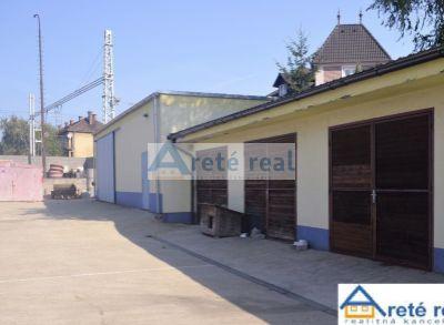 Areté real, Predaj priemyselného objektu s rodinným domom v blízkosti centra mesta Pezinok