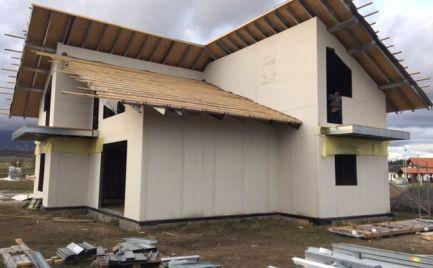 Novostavba rodinného domu, nová časť obce Veľký Slavkov