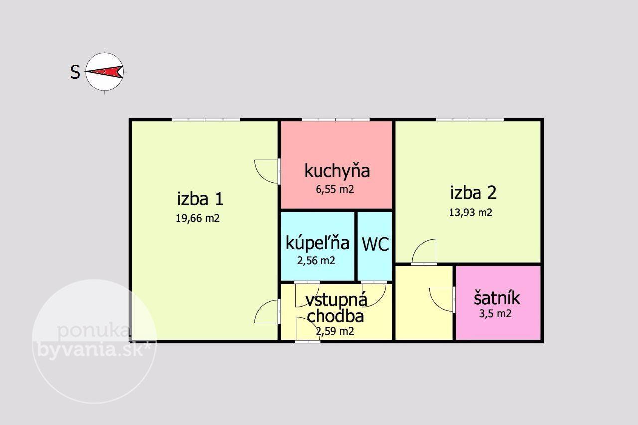 ponukabyvania.sk_Gabčíkova_2-izbový-byt_archív