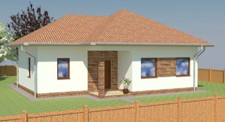 4 - izbový rodinný dom 100 m2 s pozemkom 407 m2 v centre obce Rajka