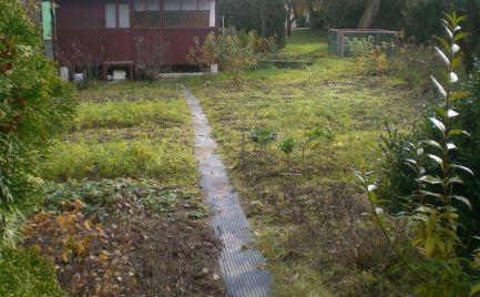 Záhradná chatka 25 m2 v záhradkárskej osade na pozemku 237m2, Kolónia hviezda, Martin.