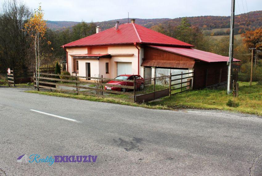 Predaj Rodinné domy Horný Tisovník