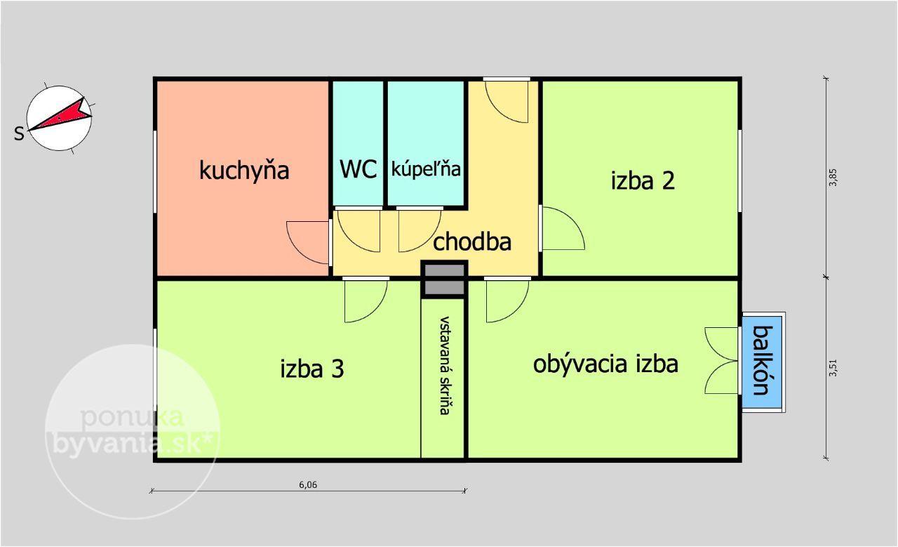 ponukabyvania.sk_Velehradská_3-izbový-byt_BARTA