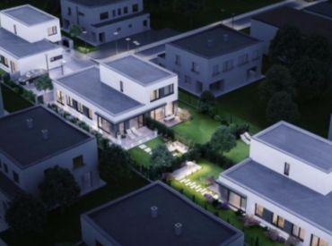 Moderný 4i byt so záhradkou pri hrádzi v Rovinke od 147900,-   centrum obce! Rezervácia len 2% zvyšok po kolaudácii