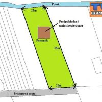 Pre rodinné domy, Slovenská Ves, 2078 m²
