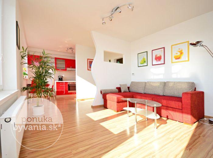 PRENAJATÉ - RIAZANSKÁ, 1-i byt, 43 m2 – doprajte si MODERNÉ BÝVANIE v krásnom slnečnom byte, nadstavba, novo zariadený byt, KÚSOK OD POLUSU