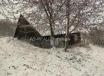 Drevenica na okraji malej osady obce Zákopčie