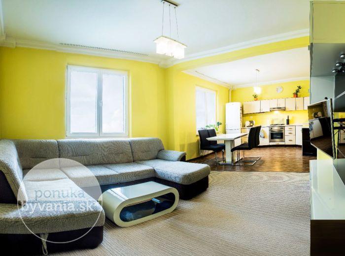 PREDANÉ - RIAZANSKÁ, 3-i byt, 84 m2 - príjemne upravený byt neďaleko JAZERA KUCHAJDA a OC Polus
