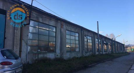 Na prenájom výrobné / skladové priestory, haly, Bytča