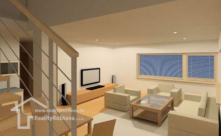 Mezonetový byt v novostavbe