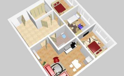 Na predaj veľký slnečný 4 izbový byt v Nitre