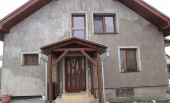 Novostavba 4 - izbového RD Plevník-Drienové