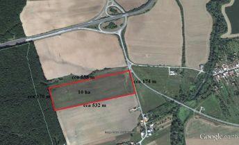 Pozemok pre občiansku vybavenosť, Budimír, 92 000 m2 (9,2 ha)