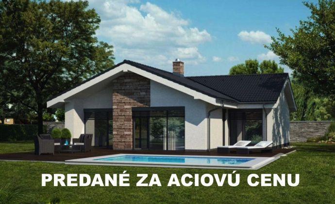 REZERVOVANÉ !!! - VIANOČNÁ AKCIA - 4izbová novostavba RD s pozemkom len za 95.000,-EUR
