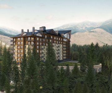 Posledné štúdio v projekte Damian Jasná hotel resort & residences