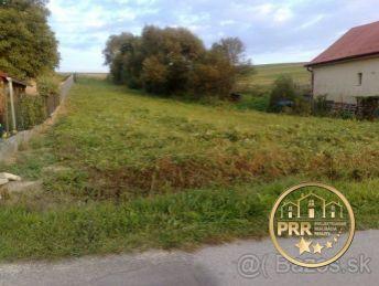 Pozemok 1785 m2 v Prusoch pri Bánovciach n/B. - na predaj