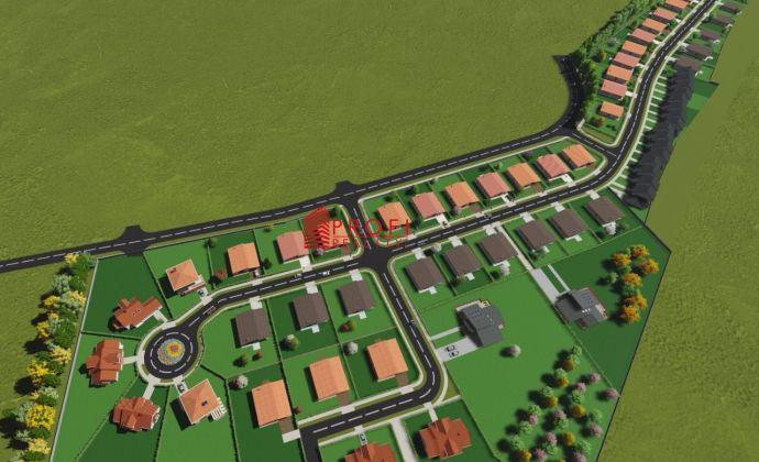 Skvelá ponuka pozemkov v novovybudovanej štvrti