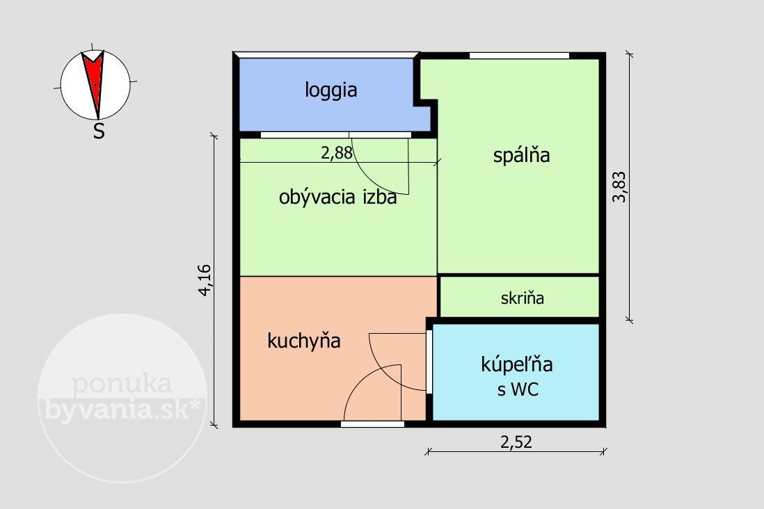ponukabyvania.sk_Košická_1-izbový-byt_BARTA