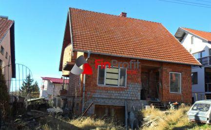 Predám rozostavaný RD - Nitra, časť Zobor.