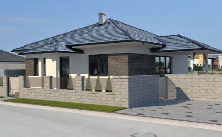 Novostavba/bungalov, 4-izbový rodinný dom so štandardom na predaj v obci Lehnice