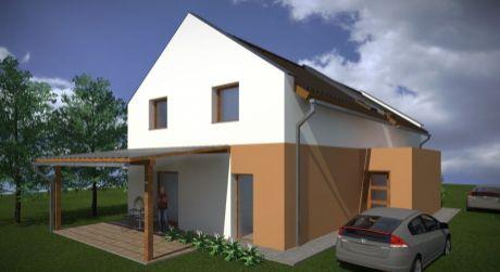 4 - izbový dvojpodlažný rodinný dom v centre Rajky