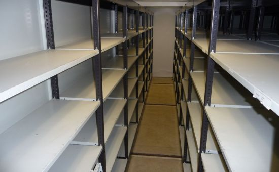 Prenájom - archív s posuvnými regálmi na  prenájom