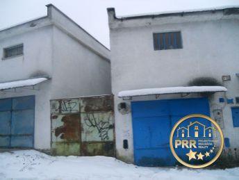 REZERVOVANÉ/ Predaj garáže s montážnou jamou a elektrikou na Severe v Bánovciach n/B.