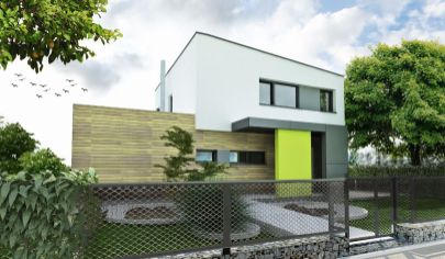 NÍZKOENERGETICKÝ 4 izb. roddinný dom, 98 m2 užitková plocha
