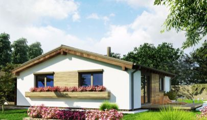 NÍZKOENERGETICKÝ, 3 izbový dom, úžitková plocha 74 m2,