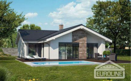Novostavba rodinného domu v Bitarovej na predaj, 94,2 m2